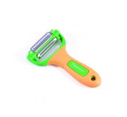 Fissman Нож для чистки овощей, 3 лезвия GT-8668.YP Fissman fissman хлебный нож onyx 20 см kn 2336 br fissman