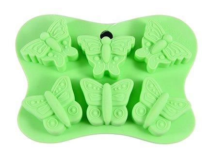 Fissman Форма для льда или шоколада Бабочки, 14x10.5x2 см, 6 ячеек BW-6558.6 Fissman