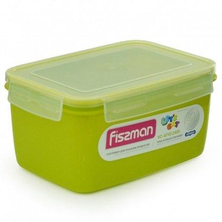 Контейнер для хранения продуктов (2.4 л), 22x15x11 см 6745 Fissman phibo контейнер для хранения продуктов на защелке 2 л