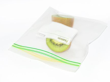 Универсальные пакеты, 16x14 см, с zip-замком, 18 шт 0477 Fissman