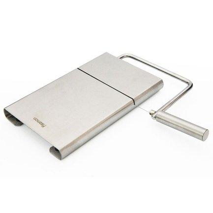 Fissman Нож для сыра со струной, 13 см, с разделочной доской, 21x12 см
