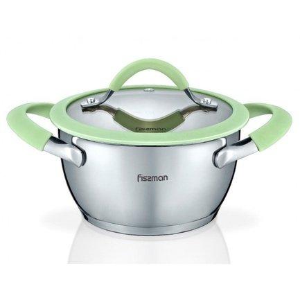 Fissman Кастрюля Viva (1.2 л), 16 см SS-5431.16 Fissman fissman набор посуды martinez 6 пр ss 5829 6 fissman
