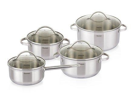 Fissman Набор посуды Gabriela, 8 пр SS-5816.8 Fissman набор посуды 8 пр bekker 8 марта женщинам
