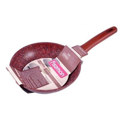 Fissman Сковорода для жарки Imperial Bordo, 24 см AL-4351.24 Fissman fissman кастрюля martinez 5 9 л 24 см ss 5139 24 fissman