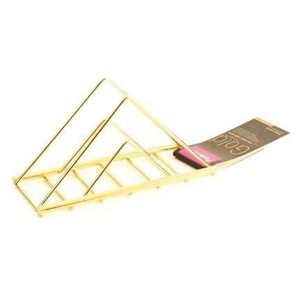 Fissman Подставка для салфеток Gold, 15х4х8 см