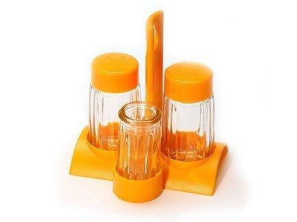 Fissman Набор для приправ, 10.5х8х11.5 см, 4 пр CM-7620.4 Fissman fissman набор посуды martinez 6 пр ss 5829 6 fissman
