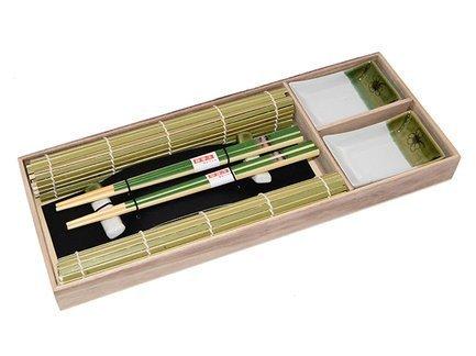 Набор для суши на 2 персоны, 8 пр, в деревянной коробке 9580 Fissman набор для микроволновки 2 пр bekker набор для микроволновки 2 пр