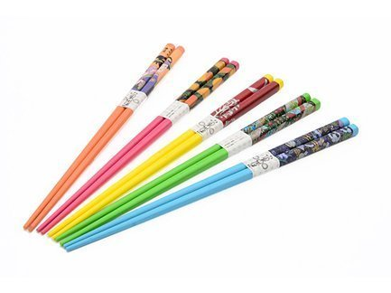 Fissman Набор разноцветных палочек для суши, 22 см, 5 пар AY-9584.ST Fissman набор палочек для суши на 5 персон 25 11 2см уп 1 100наб