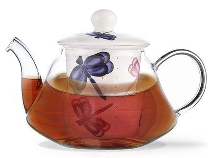 Fissman Заварочный чайник Casablanca (1000 мл) TP-9275.1000 Fissman fissman заварочный чайник casablanca 1000 мл tp 9277 1000 fissman