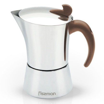 Гейзерная кофеварка (240 мл), на 4 порции 9414 Fissman