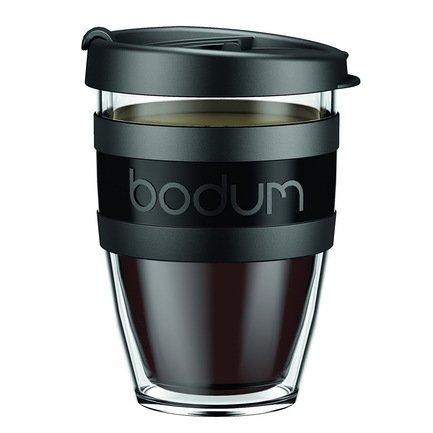 Bodum Кружка дорожная JoyCup (0.3 л), чёрная 11674-01S-1 Bodum кружка madonna celebration дорожная