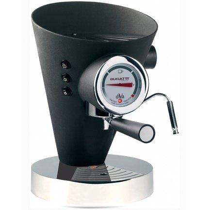 Кофеварка Espresso Diva (0.8 л), черная 15-DIVAN Casa Bugatti