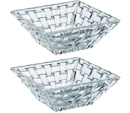 Nachtmann Набор салатников квадратных Bossa Nova, 12х12 см, 2 шт 89694 Nachtmann набор салатников идиллия колокольчики 4 шт