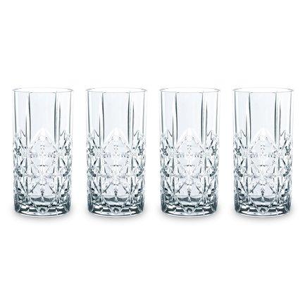 Nachtmann Набор стаканов высоких Highland (445 мл), 4 шт 97784 Nachtmann nachtmann набор стаканов высоких highland 445 мл 4 шт 97784 nachtmann