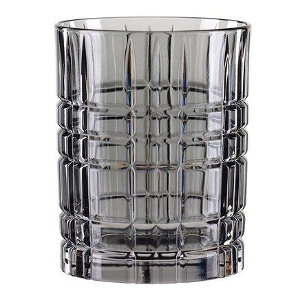Nachtmann Стакан низкий Highland (345 мл), серый 97443 Nachtmann nachtmann стакан для сока palais 265 мл 92954 nachtmann