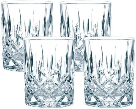 Nachtmann Набор стаканов для виски Noblesse (295 мл), 4 шт 89207 Nachtmann набор одноразовых стаканов buffet biсolor цвет оранжевый желтый 200 мл 6 шт