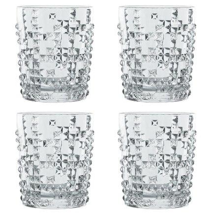 Nachtmann Набор стаканов для виски Punk (348 мл), 4 шт 99503 Nachtmann набор стаканов для виски 6 шт bohemia набор стаканов для виски 6 шт