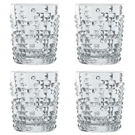 Nachtmann Набор стаканов для виски Punk (348 мл), 4 шт 99503 Nachtmann набор стаканов luminarc versalles 350 мл 6 шт