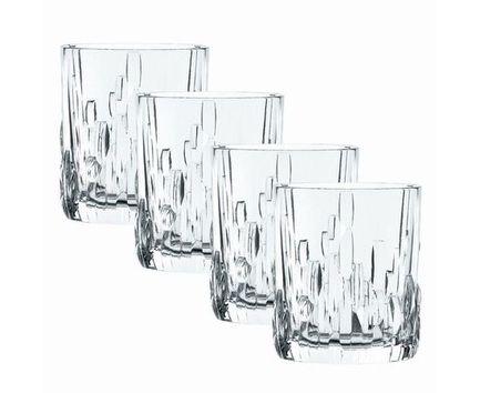 Набор стаканов для виски Shu Fa (330 мл), 4 шт