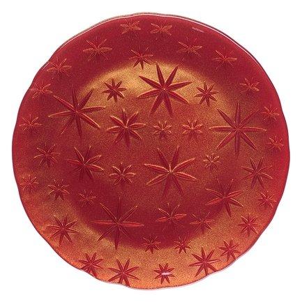 Nachtmann Блюдо Stars, 32 см, красное 95890 Nachtmann nachtmann блюдо круглое petals 32 см 93622 nachtmann