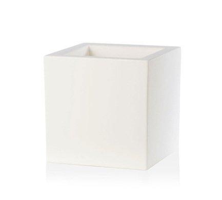 TeraPlast Кашпо Schio Cubo Essential, 30x30x30 см, белое 11425030043 TeraPlast green garden кашпо teak s