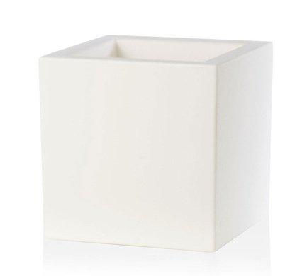 TeraPlast Кашпо Schio Cubo Essential, 50x50x50 см, белое 11425050043 TeraPlast