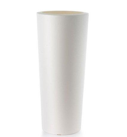 TeraPlast Кашпо Schio Cono Essential, 40x90 см, белое 11424090043 TeraPlast collins essential chinese dictionary