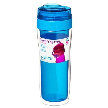 Стакан для кофе To-go (490 мл), 7.5х21.7 см, цвета в ассортименте 21478 Sistema контейнер для йогурта to go 150 мл 7 4х13 7 см 2шт 21466 sistema