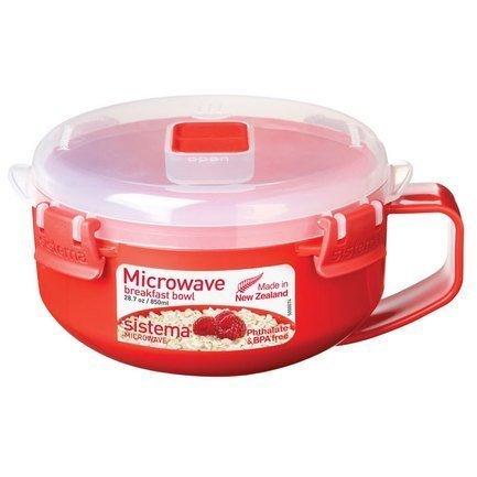 Суповая чаша, красная 1112 Sistema кружка суповая sistema microwave цвет красный 900 мл 1141