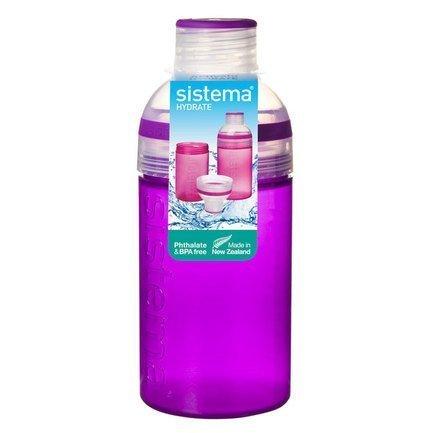 Фото - Питьевая бутылка Trio (480 мл), цвета в ассортименте 820 Sistema бутылка для воды tritan active 600 мл цвета в ассортименте 640 sistema