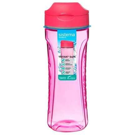 Бутылка для воды Tritan Active (600 мл), цвета в ассортименте 640 Sistema бутылка для воды hydrate 600 мл 7х20 6 см 600 sistema