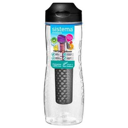 Бутылка для воды Tritan Infuser (800 мл), цвета в ассортименте 660 Sistema