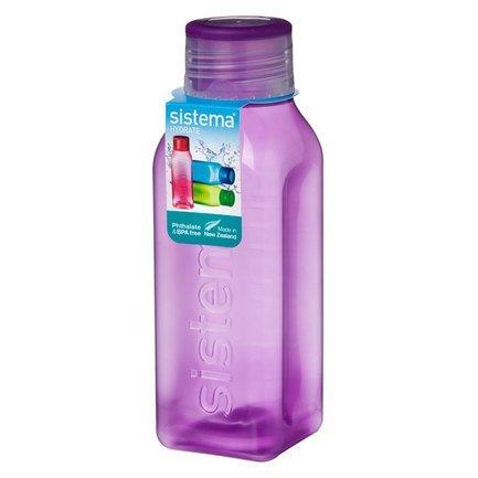 Бутылка квадратная Hydrate (475 мл), цвета в ассортименте 870 Sistema недорого