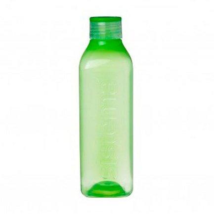 Бутылка квадратная Hydrate (1 л), цвета в ассортименте 890 Sistema бутылка для воды hydrate 600 мл 7х20 6 см 600 sistema