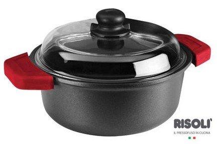 Risoli Кастрюля со стеклянной крышкой Soft Safety Cooking, 20 см (2,25 л) 01097GF/20TP Risoli