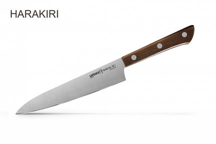 Samura Нож Harakiri универсальный, 15 см SHR-0023WO/K Samura samura нож универсальный shadow 12 см sh 0021 16 samura