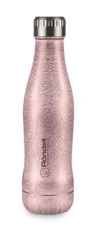 Rondell Термос Disco Rosy (0.4 л), розовый RDS-848 Rondell термос rondell rds 425 bottle black 700ml