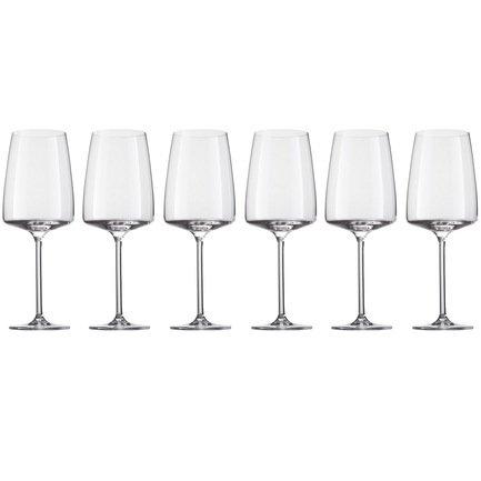 Schott Zwiesel Набор бокалов для десертного вина Sensa (535 мл), 6 шт. 120 586-6 Schott Zwiesel набор для виски 2 стакана и графин schott zwiesel basic bar classic арт 120 143