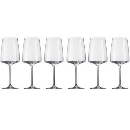 Набор бокалов для красного вина 660 мл, 6 шт, Sensa 120 593-6 Schott Zwiesel