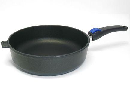 SKK Сковорода Titan Durit Resist, 24 см, со съемной ручкой 072344 SKK skk сковорода cerapro 24 см со съемной ручкой 064244 skk