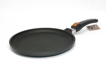 SKK Сковорода для блинов Titanium 2000, 26 см, со съемной ручкой 02264 SKK