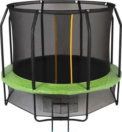Swollen Батут Swollen Prime 10 FT, 305 см, зеленый, уценка SWL-PRIME-10-FT b u Swollen закладной элемент для стальных волейбольных стоек pesmenpol профиль 80х80 мм
