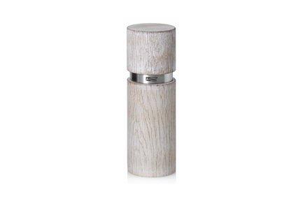 AdHoc Мельница для соли и перца Textura Antique, 15 см, белая 010.070800.056 AdHoc мельница для соли и перца 16 см gipfel 9040