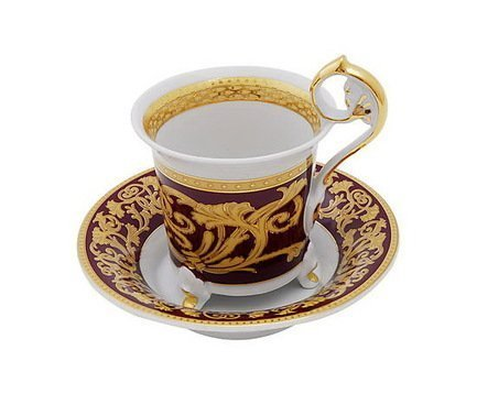 Чашка высокая Tete-a-tete на ножке (0.20 л) с блюдцем 40120435-0593 Rudolf Kampf простыня евро tete a tete tete a tete mp002xu0dyfh