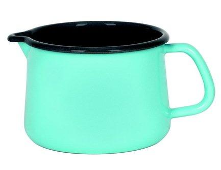 Riess Кружка Kristallblau (1 л), с носиком 0672-037 Riess чайник riess pastell со свистком цвет розовый 2 л