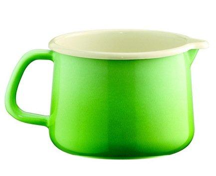 Riess Кружка Smaragd (1 л), с носиком 0672-036 Riess чайник riess pastell со свистком цвет розовый 2 л