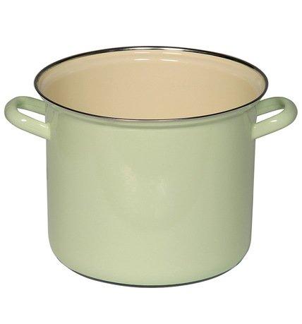 Riess Кастрюля цилиндрическая Pastell (6 л), 22 см, с эмалированной крышкой 0274-006 Riess кастрюля winner с крышкой 6 л