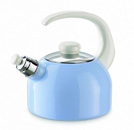 Riess Чайник со свистком Pastell (2 л) 0543-015 blau Riess чайник riess pastell со свистком цвет розовый 2 л