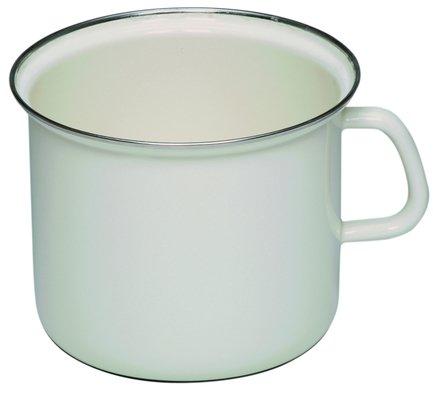 Riess Кружка цилиндрическая Weiss (2 л), с эмалированной крышкой 0271-033 Riess riess чайник со свистком corall 2 л 0543 034 riess