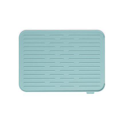 Силиконовый коврик для сушки посуды, зеленый 117480 Brabantia